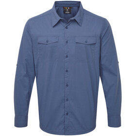 Sherpa Ravi Chemise manches longues Homme, neelo blue